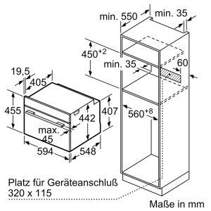Lò Nướng Bosch CBG635BS3 Series 8 Âm Tủ