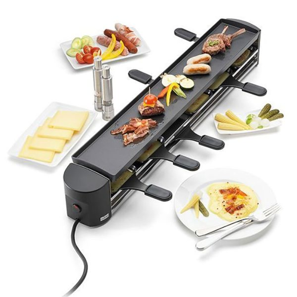 bep nuong stockli anthracite raclette grill 6 nguoi 1000w 03