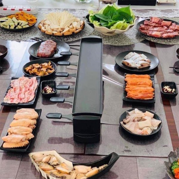 bep nuong stockli anthracite raclette grill 6 nguoi 1000w 05