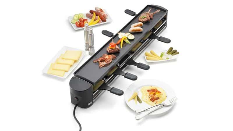 Bếp Nướng Stockli Raclette Grill Cheesmax 4 Anthracite 0009.02 - 6 Người Ăn -2