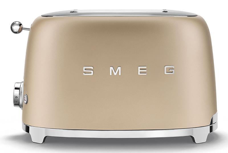 Máy Nướng Bánh Mì Smeg TSF01CHMEU Gold