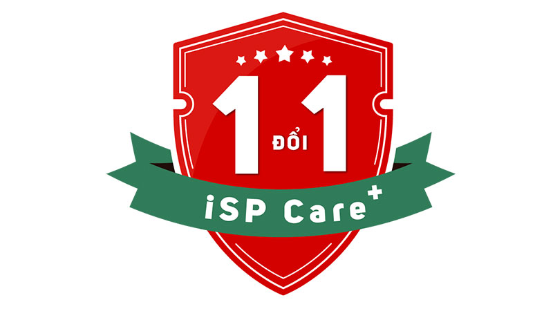 iSP Care+ - Đổi mới 1 Đổi 1