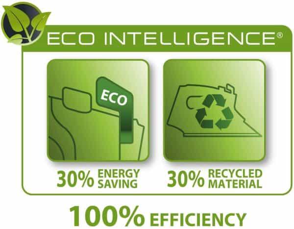 Bàn Là Hơi Nước Rowenta DW6030 Eco Intellogence - Black/Green - 1