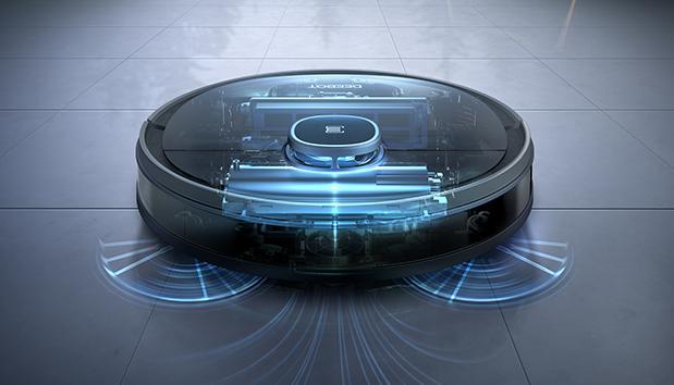Robot Hút Bụi Lau Nhà Deebot Ozmo 950