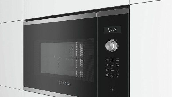 Lò Vi Sóng Kèm Nướng Bosch Seri6 BEL554MS0 Âm Tủ