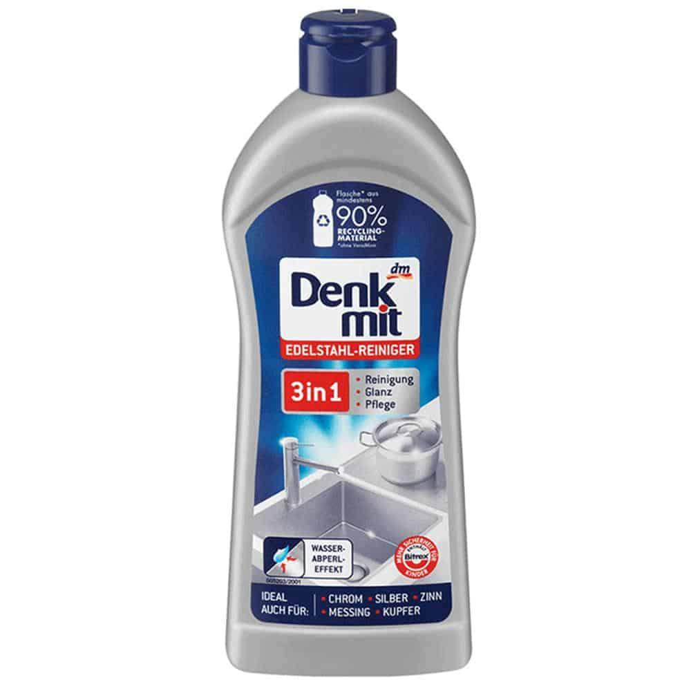 Chai Tẩy Rửa Inox Denkmit Edelstahlreiniger - 300ML