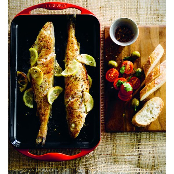 Grilled Fish with Lemon Large