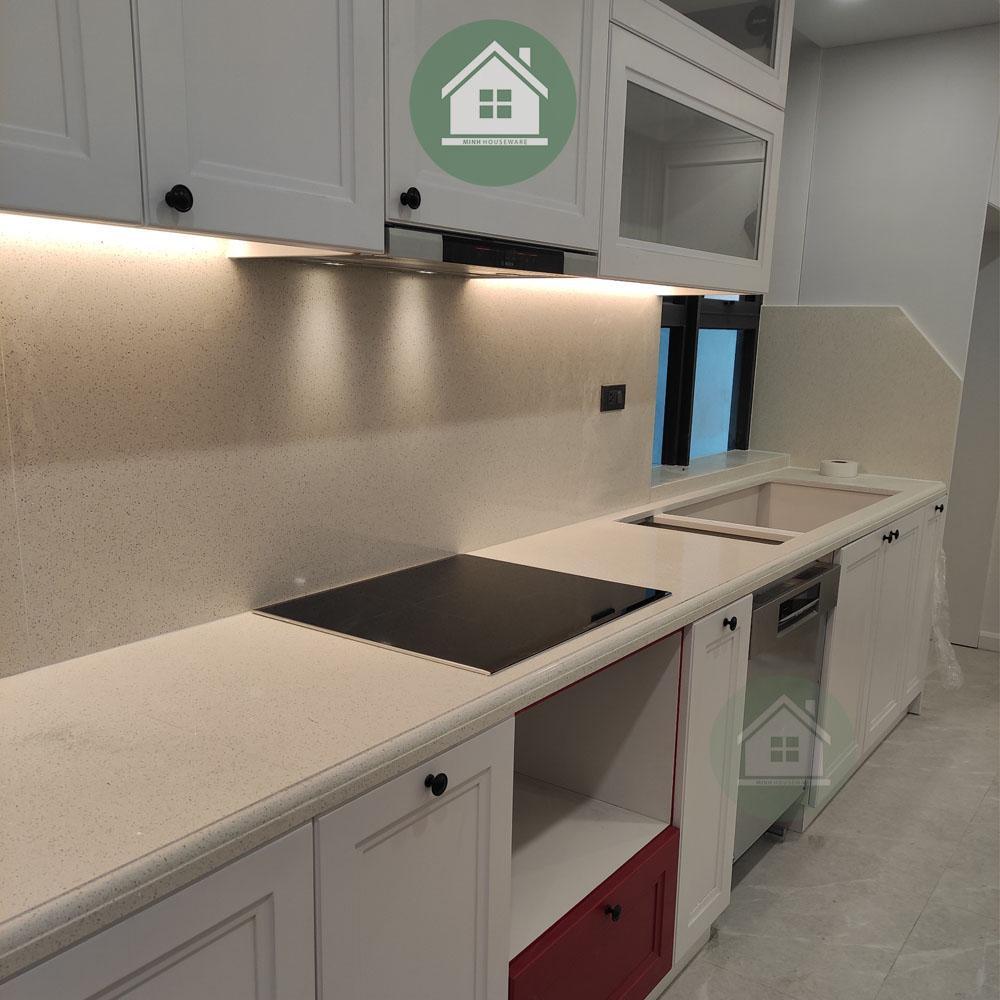 Dự Án: Lắp Đặt Máy Rửa Bát + Hút Mùi + Bếp Từ