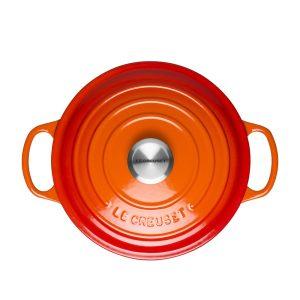 le creuset round casserole dish 24cm 6