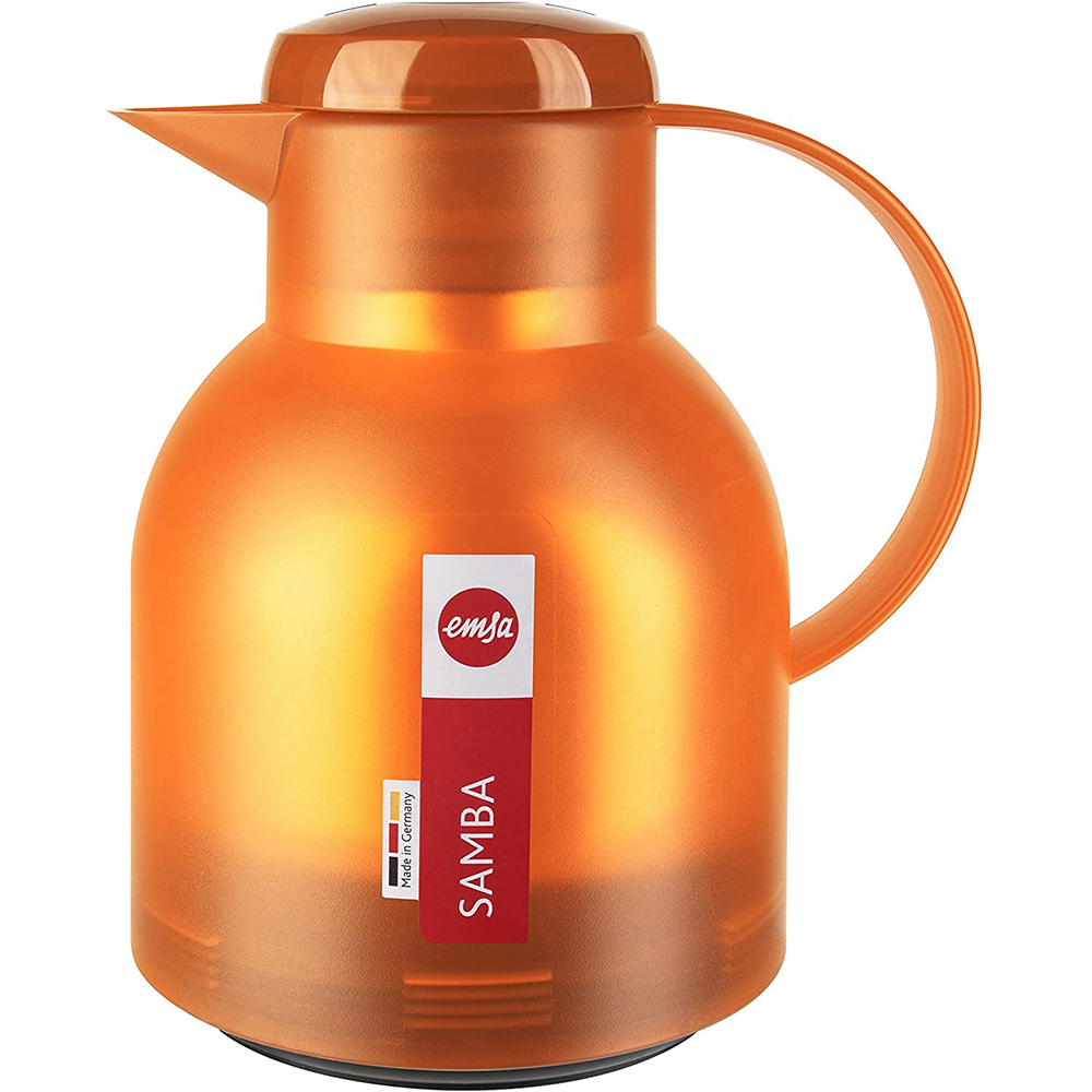 Bình Giữ Nhiệt Emsa Samba Vacuum 504234 - Orange 1L