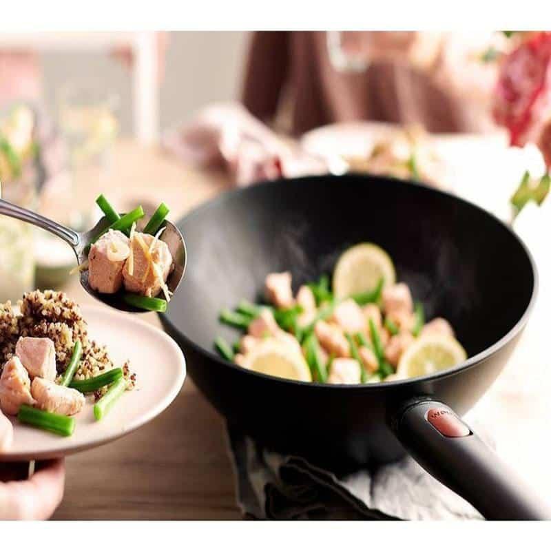 Chảo Gang Sâu Lòng Woll Eco Lite Wok and Stir Fry 11030ELI