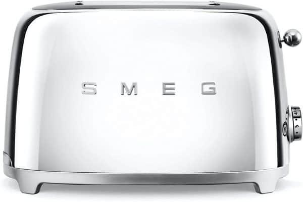 Máy Nướng Bánh Mì Smeg TSF01SSEU Chrome