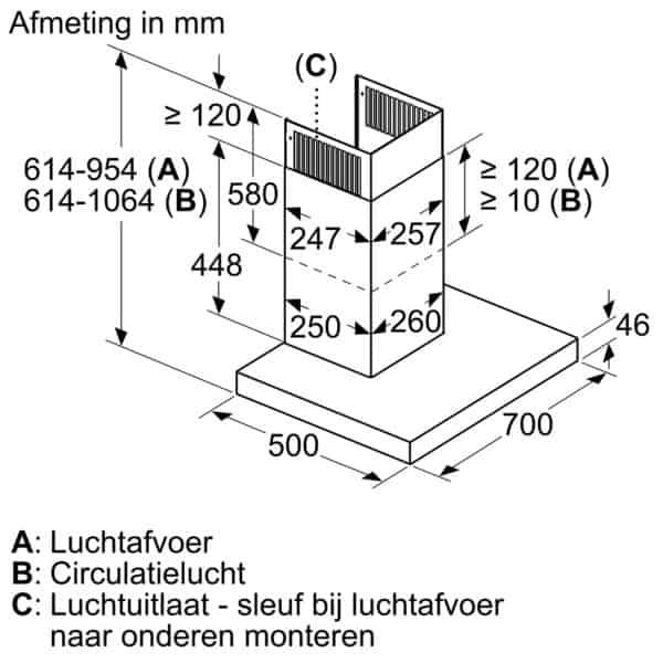 Hút Mùi Bosch DWB77CM50 Series 6 - 70cm-7