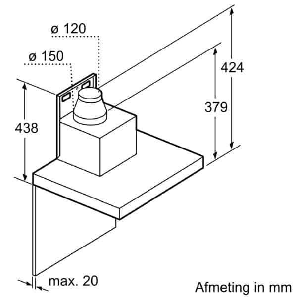 Hút Mùi Bosch DWB77CM50 Series 6 - 70cm-6