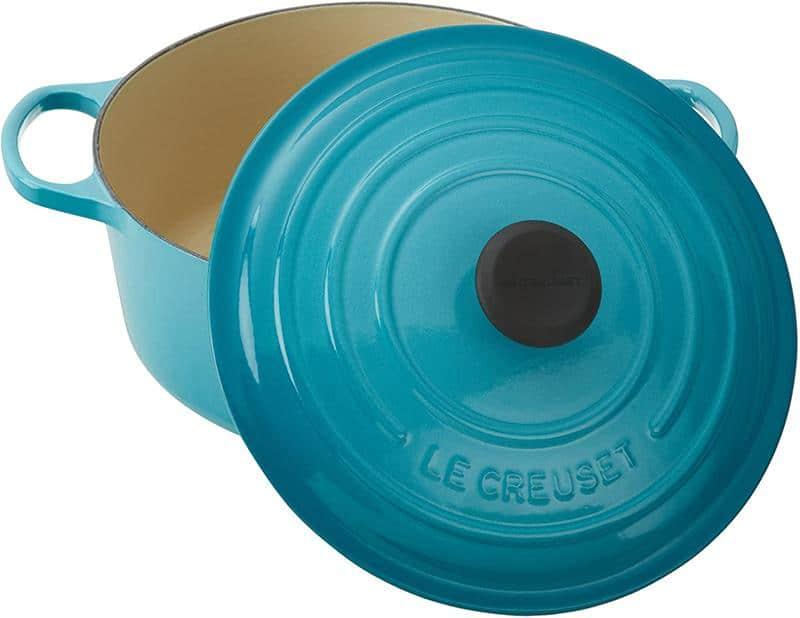 Nồi Gang LeCreuset Bräter Rund Evo 20cm Caribe Blue
