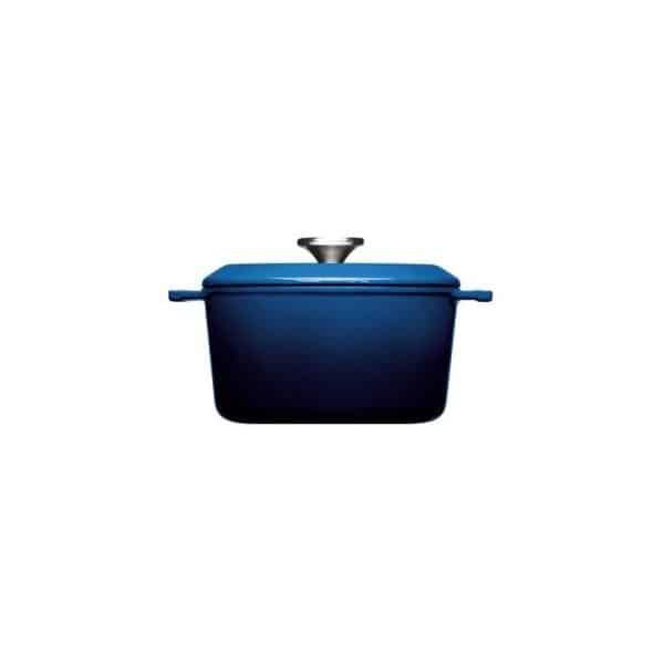 cast iron pot 24 cm chiliredcobalt blue woll iron 124ci 1