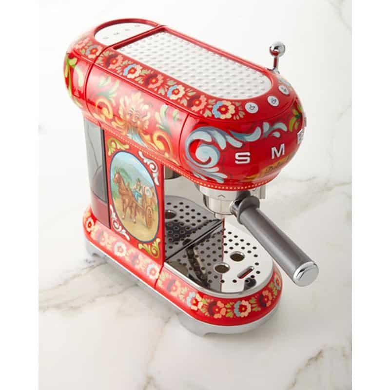 Máy Pha Cafe SMEG & Dolce&Gabbana ECF01DGEU Sicily Tình Yêu Của Tôi