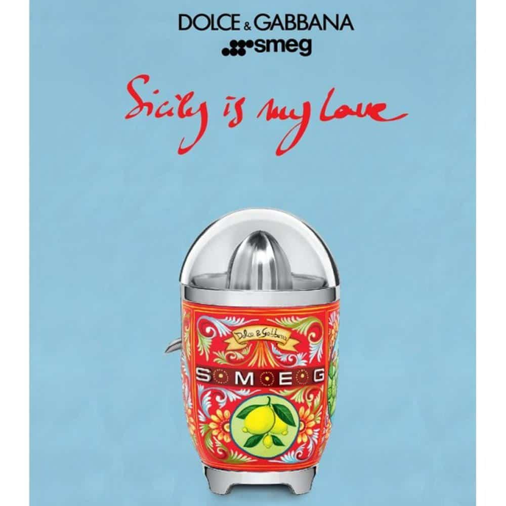 Máy Vắt Cam SMEG & Dolce&Gabbana CJF01DGEU Sicily Tình Yêu Của Tôi