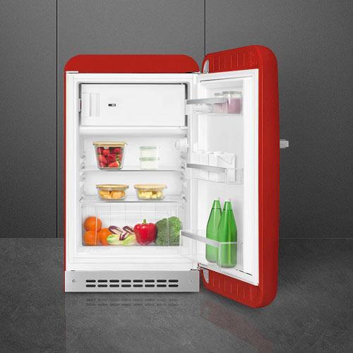 Tủ Lạnh Smeg FAB10RRD5 Red 122L - Nhập Khẩu Từ Đức