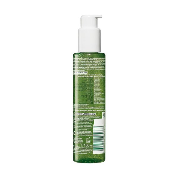 Bio Lemongrass Belebendes Waschgel Bio 150ml Rueckseite Garnier Deutschland gr 1