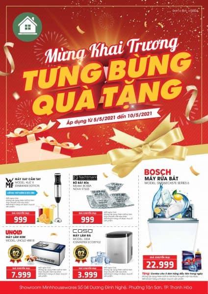 Khai trương Minh Housewares Thanh Hóa