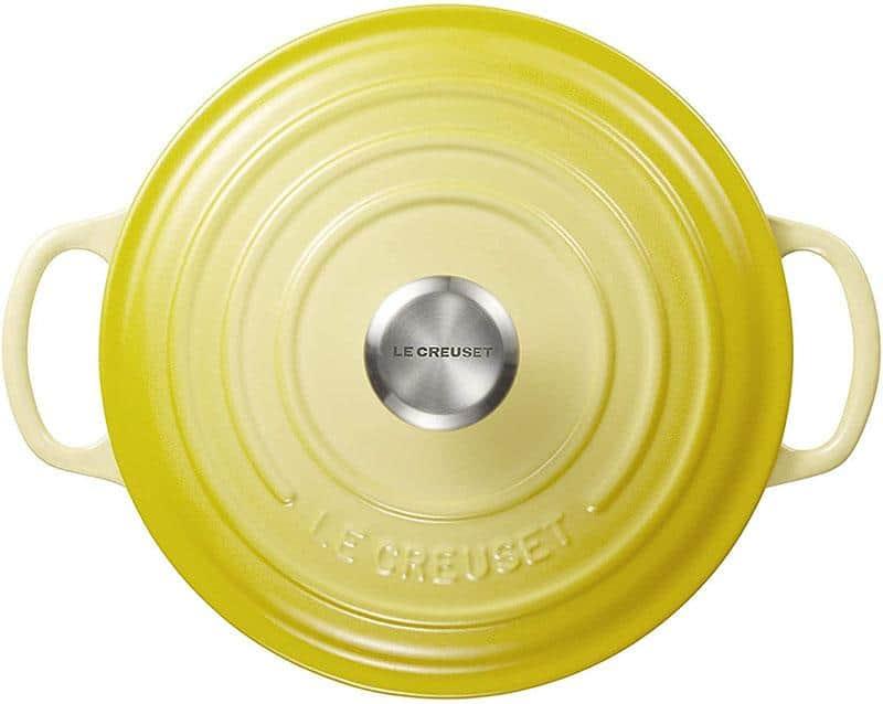 Nồi Gang LeCreuset Evo Màu Vàng 20cm/2.4l