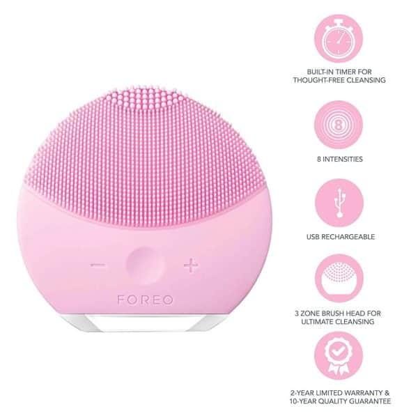 Máy Rửa Mặt Foreo LUNA Mini 2 Pearl Pink