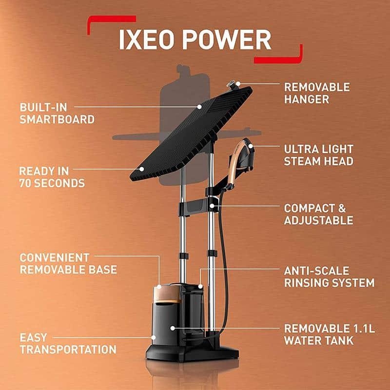 Bàn Là Cây Tefal QT2020 IXEO Power - thiết bị ủi hơi nước tốt nhất năm 2021