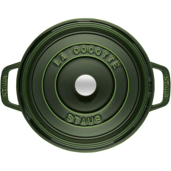 Cocotte Round 24cm Basil 2