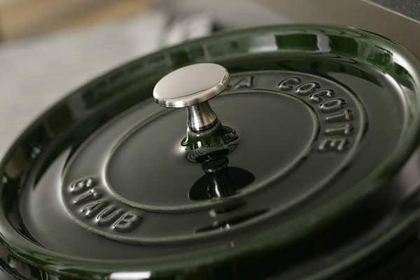 Cocotte Round 24cm Basil 6