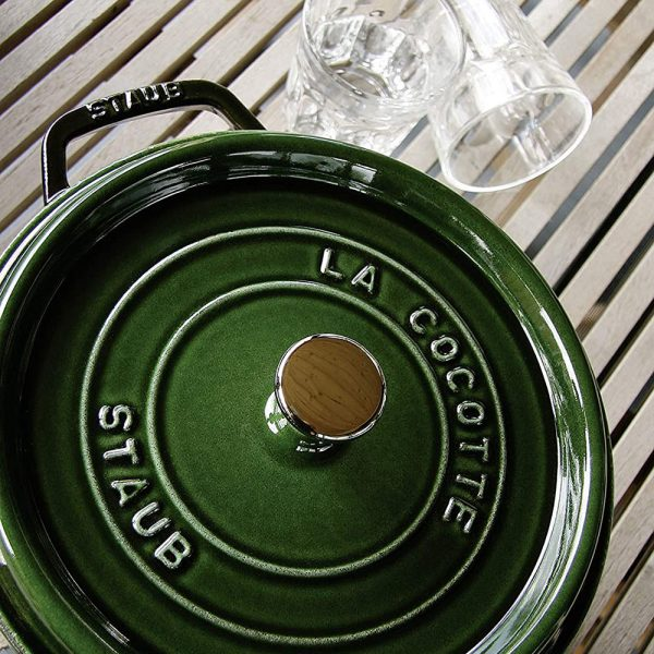 Cocotte Round 24cm Basil 7