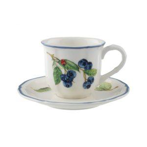 Bộ Cốc Kèm Đĩa Villeroy & Boch Cottage Espressotasse 1011151410