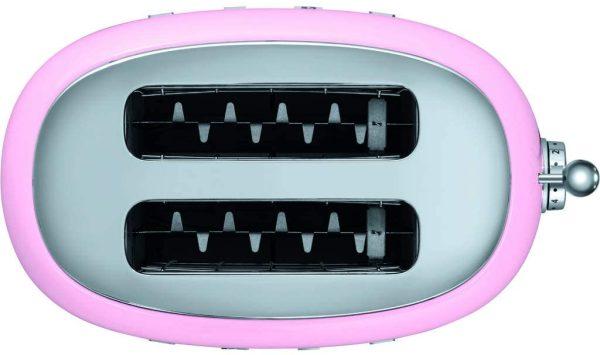 Máy Nướng Bánh Mì Smeg TSF01PKEU Pink-4