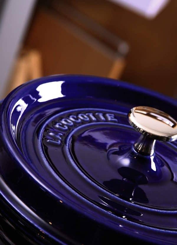 Nồi Gang Staub Round Cocotte Blue 20cm 40510-264-0