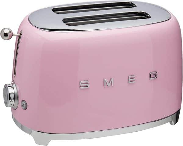Máy Nướng Bánh Mì Smeg TSF01PKEU Pink-5