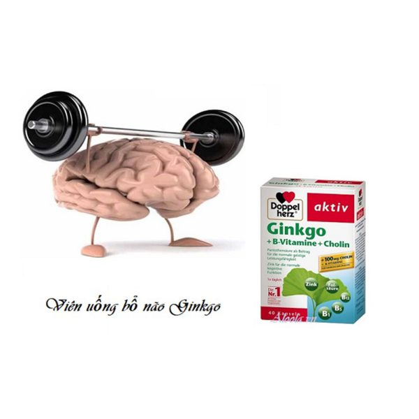 Viên uống bổ não Doppelherz Ginkgo