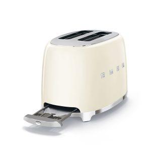Máy Nướng Bánh Mỳ Smeg TSF01CREU Cream