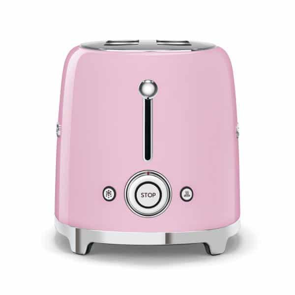Máy Nướng Bánh Mì Smeg TSF01PKEU Pink-2