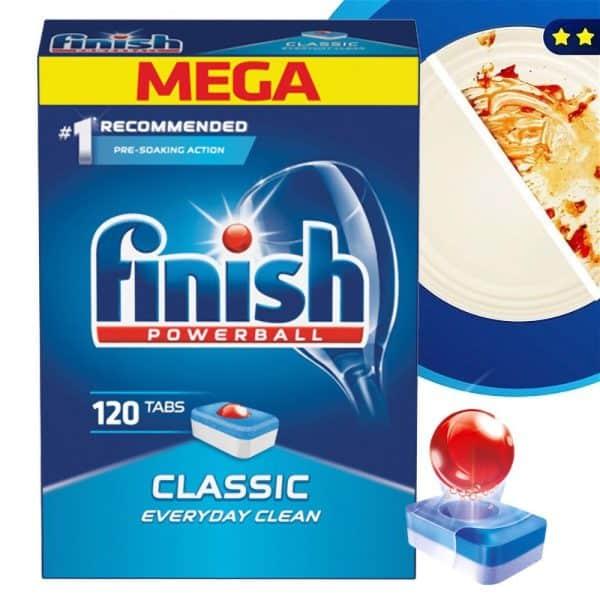 Viên Rửa Bát Finish Powerball Classic 120 Viên-2
