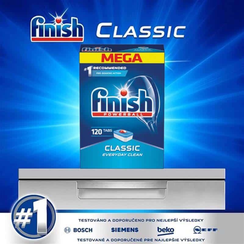 Viên Rửa Bát Finish Powerball Classic 120 Viên-1