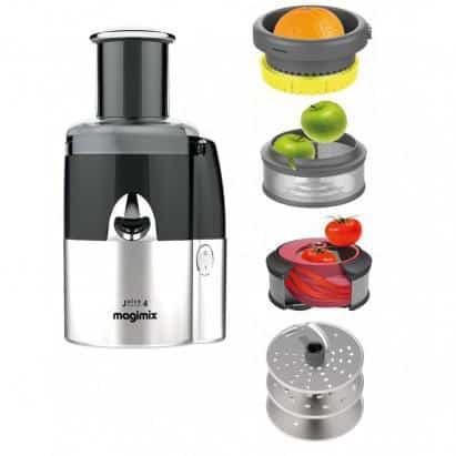 Máy Ép Trái Cây Magimix Juice Expert 4 18083EB Màu Đen Bạc 2