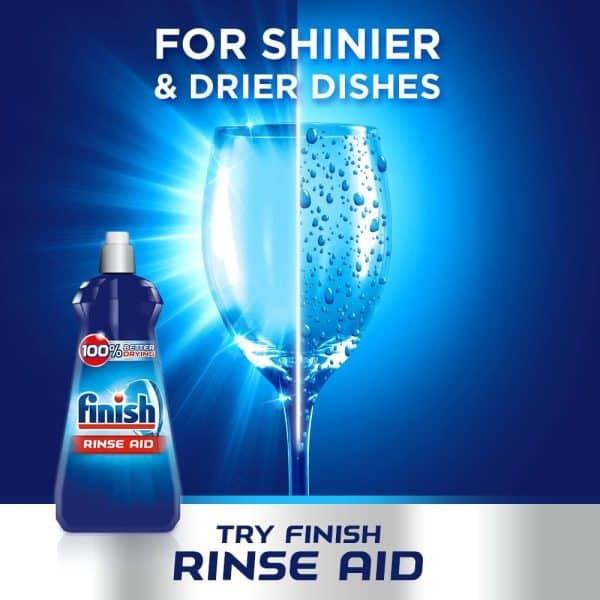 Nước Làm Bóng Finish Rinse Aid 800ml Hương Chanh-2