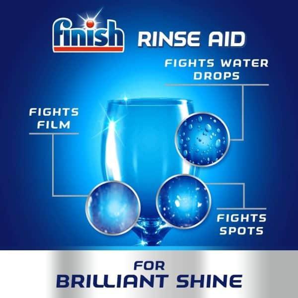 Nước Làm Bóng Finish Rinse Aid 800ml Hương Chanh-3