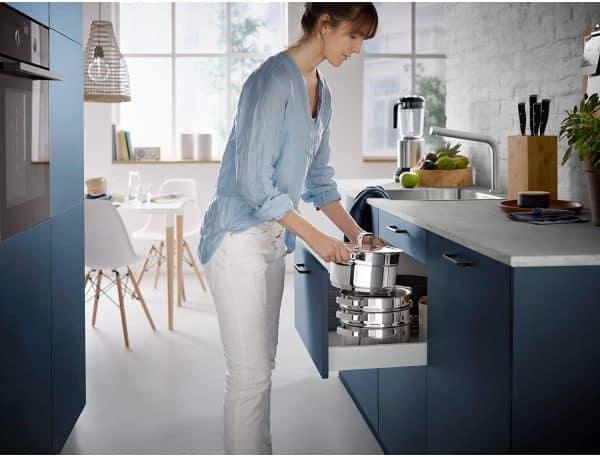 Bộ Nồi Xửng Wmf Compact Cuisine Pot 20cm - 4 Món-1