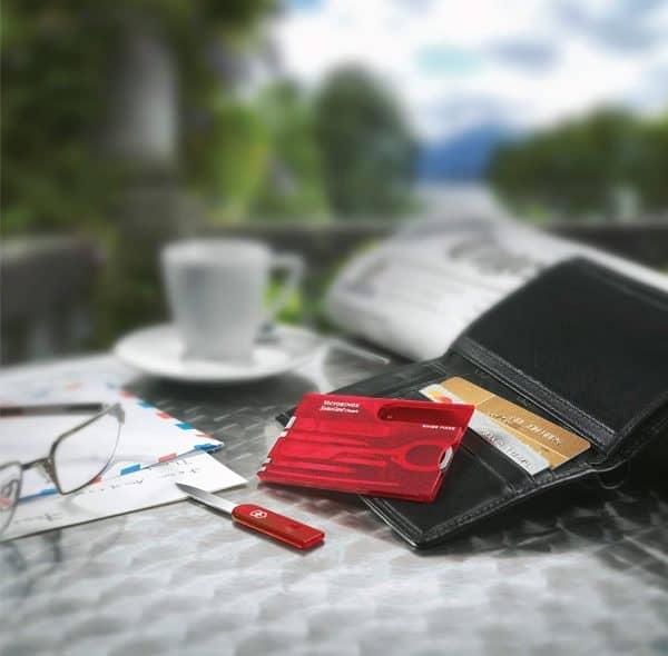 Dụng Cụ Đa Năng Victorinox Swisscard Ruby 0.7100.T-5