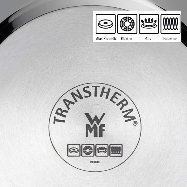 Bộ Nồi Xửng Wmf Compact Cuisine Pot 20cm - 4 Món-4