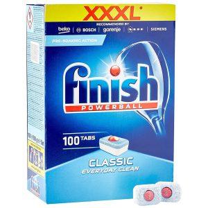 Viên Rửa Bát Finish Powerball Classic Hộp 100 Viên