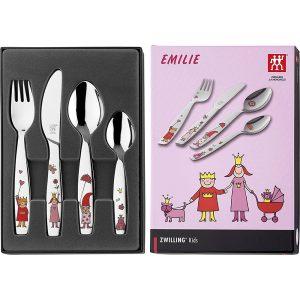 Bộ Dao Thìa Dĩa Trẻ Em Zwilling Emilie 07136-210