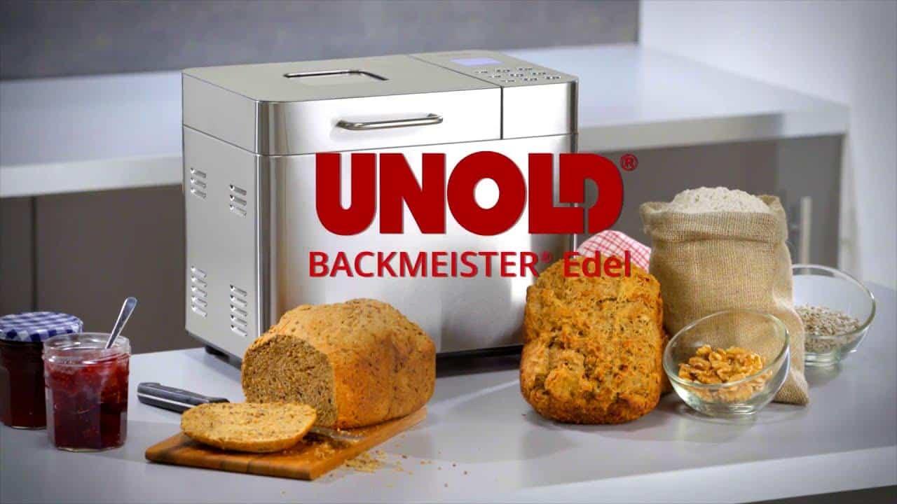 Máy Làm bánh mì Unold 68456