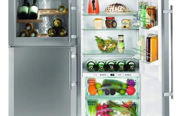 Ngăn Mát Tủ Lạnh Side By Side Liebherr SBSES 7165
